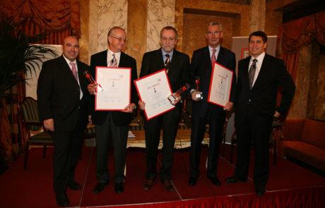 2007 Horst Pöchhacker, Rudolf Fischer, Gustav Poschalko