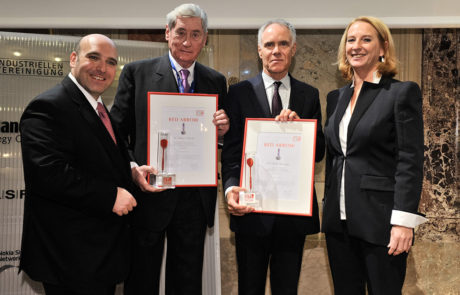 2011 Moritz Leuenberger, David Ungar-Klein, Doris Bures