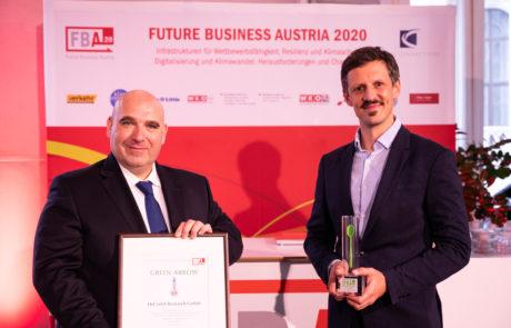 Green-Arrow-Preisträger 2020 HyCentA-Research GmbH_David Ungar-Klein und Patrick Pertl_(C) Daniel-Shaked