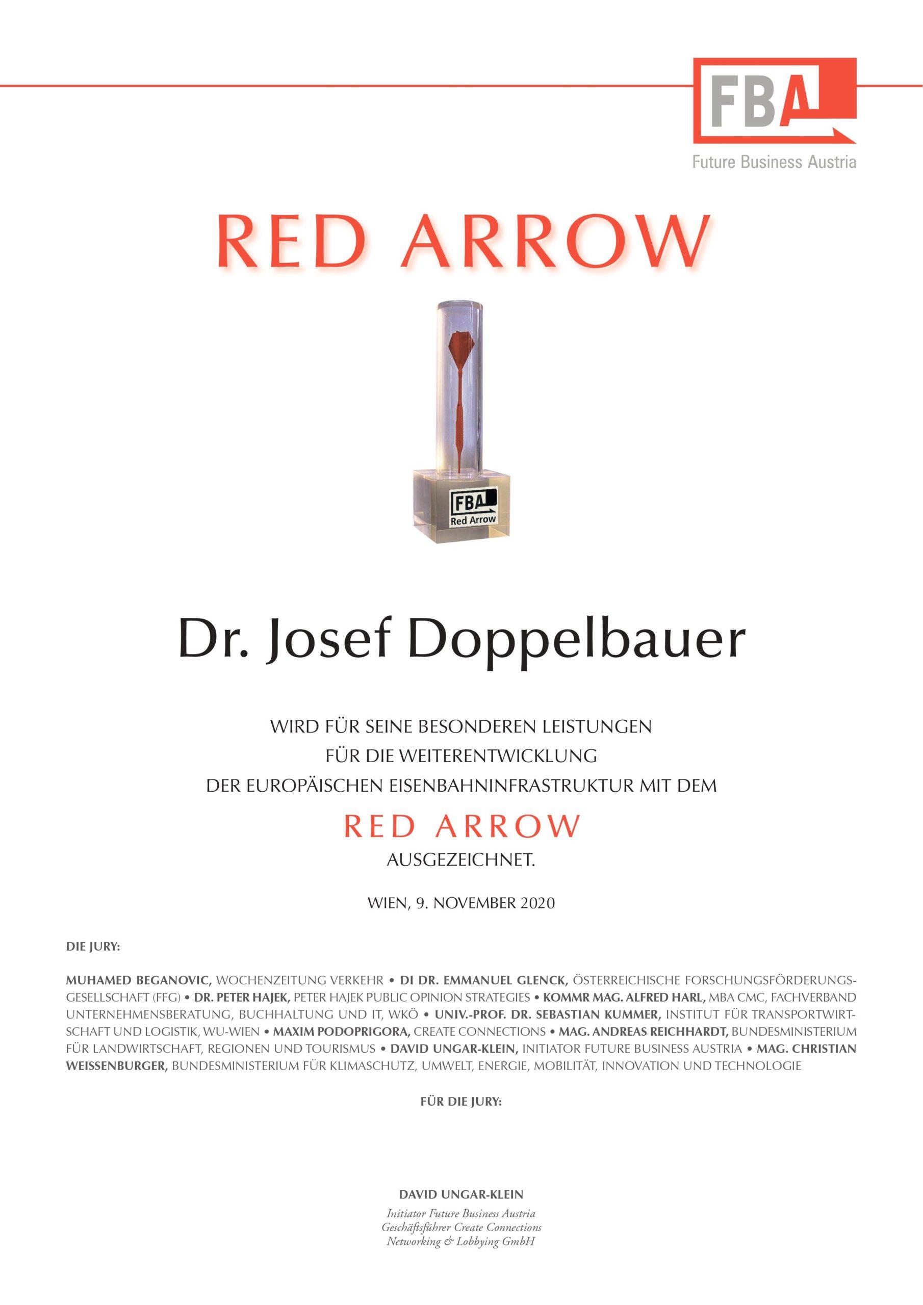 Red Arrow Gewinner 2020